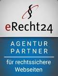 Agenturpartner Logo für rechtssichere Webseiten